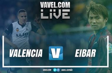 Resumen Valencia vs Eibar en LaLiga 2018
