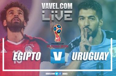 El debut de Egipto y Uruguay en el Mundial de Rusia | Fotomontaje de Daniel Souto, VAVEL
