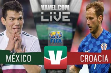 Resultado y goles del México 0-1 Croacia de la fecha FIFA 2018