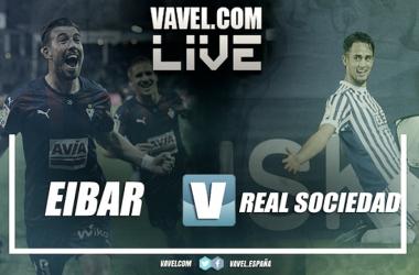 Resultado SD Eibar 0-0 Real Sociedad hoy en LaLiga