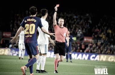 El Barça recurrirá la sanción de Sergi Roberto