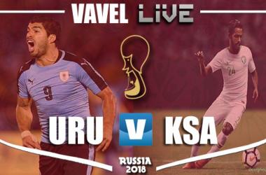 Resumen Uruguay vs Arabia Saudí en el Mundial de Rusia 2018