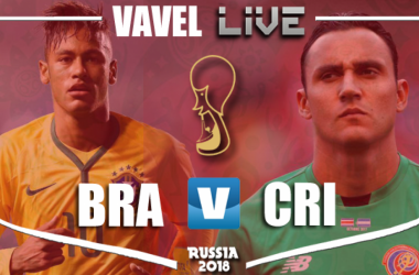 Resultado Brasil x Costa Rica na Copa do Mundo 2018 (2-0)