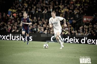 Ivan Rakitić contra el Real Madrid en el Camp Nou | Foto de Noelia Déniz, VAVEL
