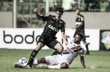 Blanco marcou o gol de empate do Alvinegro (Foto: Divulgação/Atlético)