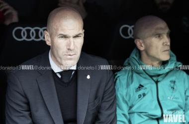 """Zidane lamenta empate do Real Madrid no dérbi: """"Uma pena porque tivemos muitas chances"""""""
