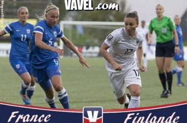 Live Qualifications Coupe du Monde féminine : France - Finlande en direct
