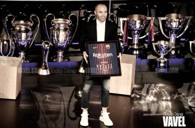 Andrés Iniesta recibe la Cruz de Honor al Mérito Deportivo