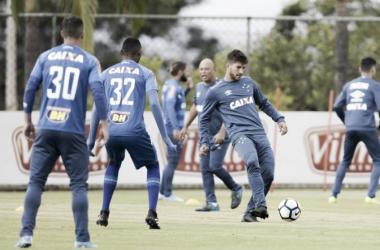 Lucas Silva quer aproveitar a chance no time titular e ter uma sequência em sua volta ao Cruzeiro (Foto:Washington Alves/Light Press/Cruzeiro)