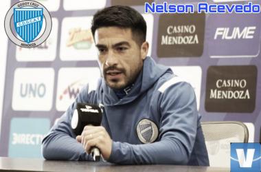 Nelson Acevedo , jugador de Godoy Cruz