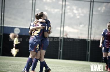 Victoria de las azulgranas en la Ciutat Esportiva | Foto de Noelia Déniz, VAVEL