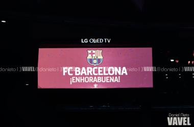 El Fútbol Club Barcelona, campeón de la Copa del Rey | Foto de Dani Nieto, VAVEL