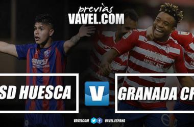Previa SD Huesca - Granada CF: mañana podría ser tarde