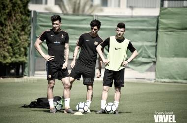 Fotos e imágenes del entrenamiento del Barça B previo al enfrentamiento contra la Unión Deportiva Almería