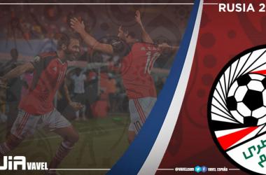 La selección de Egipto, en un partido. Foto: FIFA.com