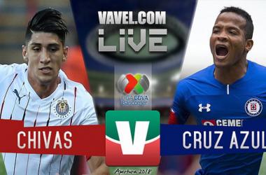 Resumen del Chivas 0-1 Cruz Azul en Liga MX 2018