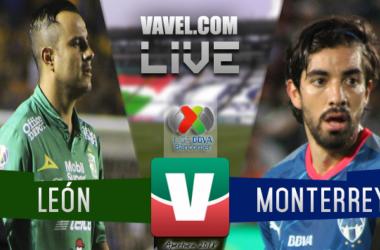 Resumen; León vs Rayados Monterrey en Liga MX 2018 (0-2)