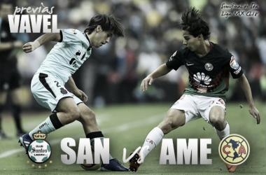 Santos y América lucharán por el segundo boleto para la final del Clausura 2018// Foto: Vavel.com