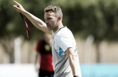 Bernardi despeja las dudas en Belgrano. / Foto: MundoD