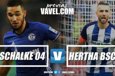 Previa Schalke 04 vs Hertha Berlín: levantar cabeza y defender la casa