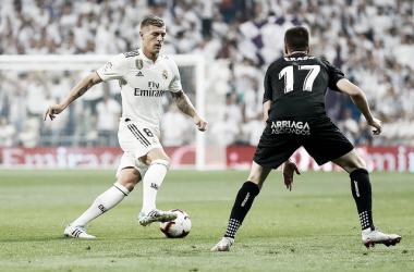Kroos, en el último encuentro ante Leganés / Foto: Real Madrid C.F: