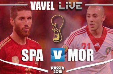 Resumen España vs Marruecos en Mundial Rusia 2018 (2-2)