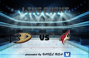 Ducks face off with the Coyotes (Photo: Ty Fisher/Vavel)