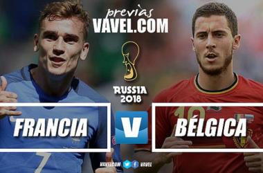 Previa Francia - Bélgica: soñar con la final para alcanzar la gloria