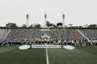 Palmeiras, Grêmio e Pacaembu: um trio quase inseparável