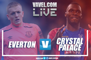 Everton vs Crystal Palace Live Stream Score Commentary in Premier League 2018/19