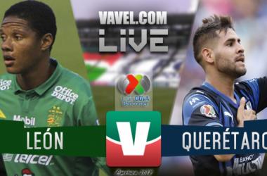 Resumen León 3-0 Querétaro en Liga MX 2018