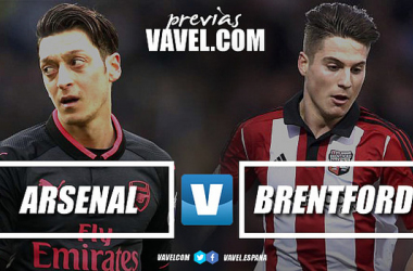 Arsenal take on Brentford in the Carabao Cup third round | Photo: VAVEL.