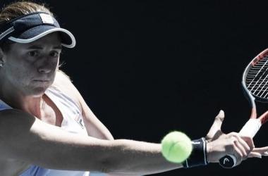 Podoroska quedo eliminada en singles y en dobles. Foto: ESPN