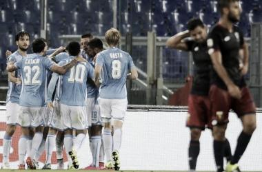 Lazio - Genoa in Serie A 2016/17 (3-1): la Lazio spicca il volo, terzo posto momentaneo!