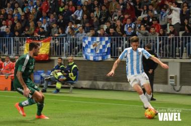 Cop podría salir del Málaga CF en el mercado invernal