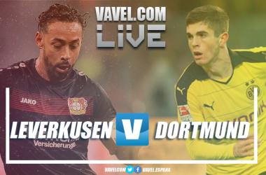 Resumen Bayer Leverkusen vs Borussia Dortmund en Bundesliga 2018 (2-4)