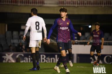 El Barça B perdona ante el Valencia Mestalla y lo acaba pagando