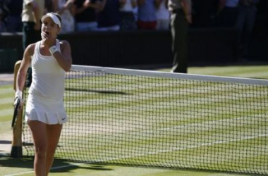Wimbledon : Bouchard en taille patronne