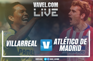 Villarreal y Atlético de Madrid se miden en La Cerámica.   Montaje: Aitor Sánchez-Rey (VAVEL)