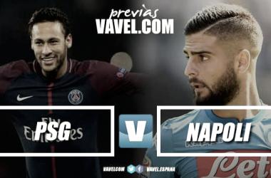 PSG y Nápoles se miden en el Parque de los Príncipes. | Imagen: Dani Souto (VAVEL)