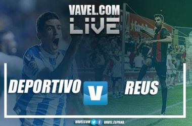 RC Deportivo vs CF Reus en vivo y en directo online en LaLiga 1|2|3 2018. | Montaje: VAVEL