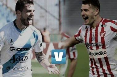 Cara a cara: Ramiro Costa vs Pablo Vegetti. Foto: VAVEL