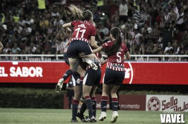 García anotó el primer gol / Foto: Fabián Meza / VAVEL