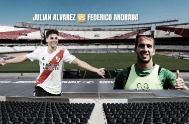 Julián Álvarez y Federico Andrada