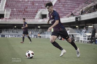 Álex Collado durante un partido | Foto de Noelia Déniz, VAVEL