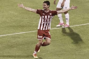 Franco Soldano, uno de los goleadores del Tatengue. Foto: Fútbol - Derf.