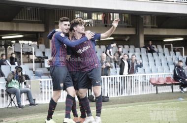 El Barça B sale con vida del Rico Pérez