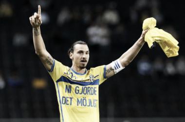 """Questionado sobre volta à Seleção Sueca na Copa do Mundo, Ibra afirma: """"Se eu quiser, estou lá"""""""