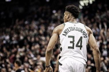 La bestia griega continua con demostrando su poderío en la NBA | Foto: Giannis Antetokounmpo