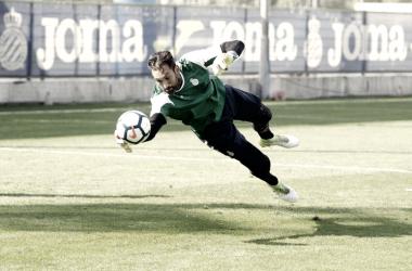 Diego López, el gallego que frenó a Leo Messi